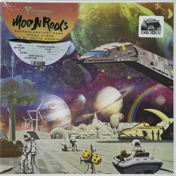 Various Artists - Moon Rocks: Extraplanetary Funk, Space Disco And Galactic Boogie