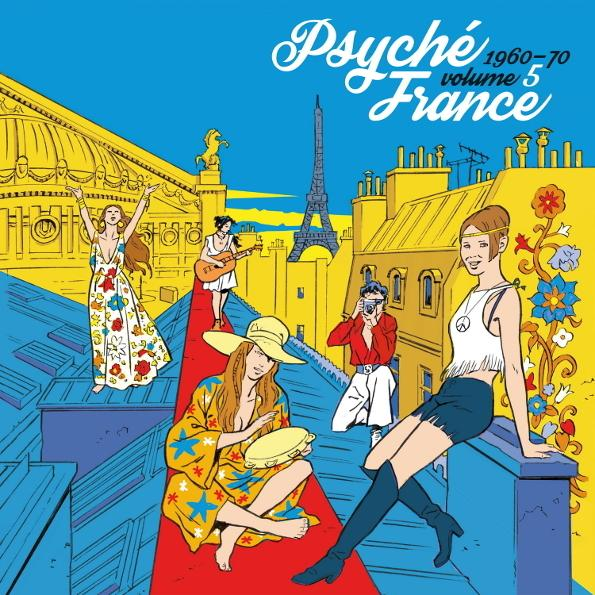 Various Artists - Psyche France Vol. 5 (limited)