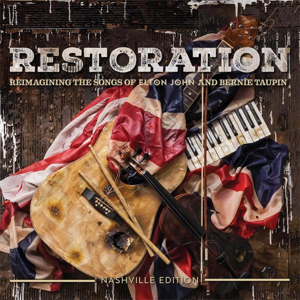 Elton John Elton JohnVarious Artists - Restoration: The Songs Of And Bernie Taupin (2 LP) цена и фото