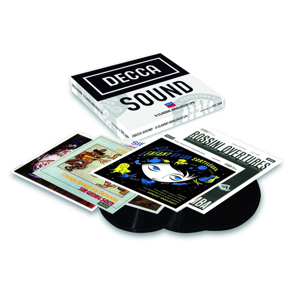 Фото - Various Artists Various Artists - The Decca Sound 2 (6 Lp Box) граммофонная пластинка decca 4786442
