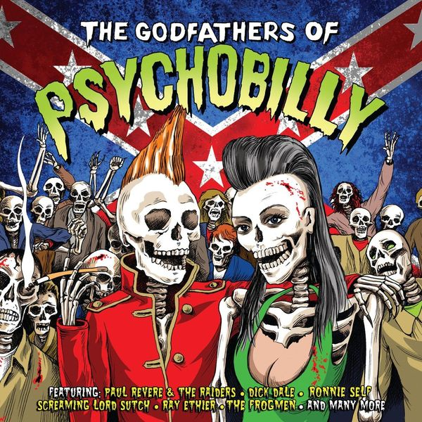 Various Artists Various Artists - The Godfathers Of Psychobilly (2 Lp, 180 Gr) цена и фото