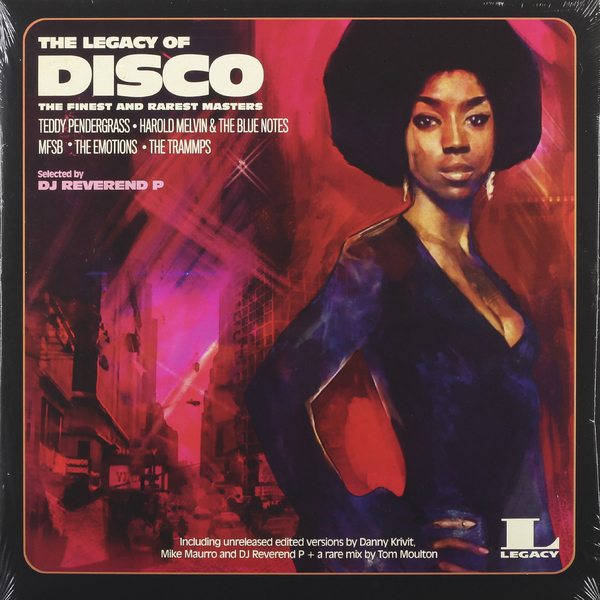 Various Artists Various Artists - The Legacy Of… Disco (2 LP) various artists 80s disco stars live from moskau vol 1