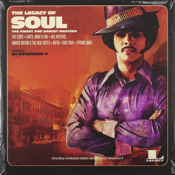 Various Artists Various Artists - The Legacy Of… Soul (2 LP) various artists various artists the roots of psychobilly 2 lp