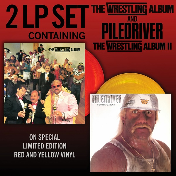 Various Artists - The Wrestling Album / Piledriver (30th Anniversary) (2 Lp, 180 Gr)