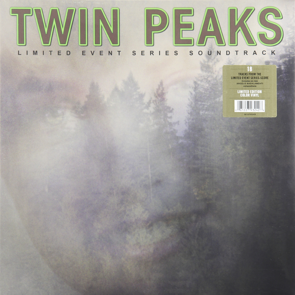 Various Artists Various Artists - Twin Peaks (limited Event Series Soundtrack): Score (2 Lp, Colour) usb laser handheld barcode scanner reader for desktop laptop 2m cable page 1
