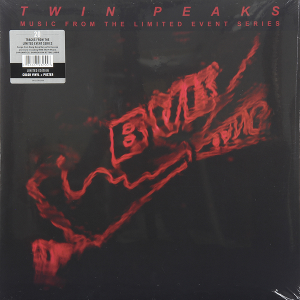 Various Artists Various Artists - Twin Peaks (music From The Limited Event Series) (2 Lp, Colour) newest gray qilefu road bike matt ud t800 full carbon fibre bicycle handlebar and stem integratived lightest parts free shipping