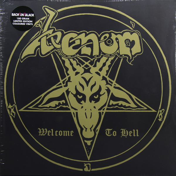 VENOM VENOM - Welcome To Hell (2 Lp, 180 Gr) venom venom welcome to hell 2 lp 180 gr