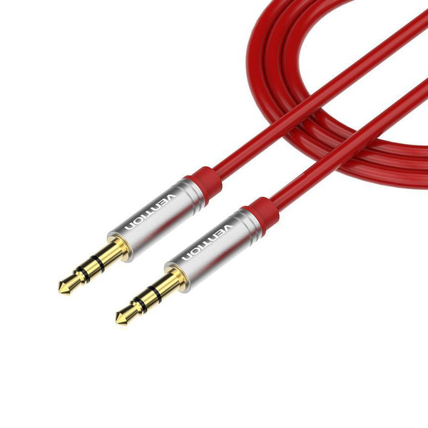 Кабель miniJack-miniJack Vention P360AC-R100 1 m кабель minijack minijack vention p360ac r100 1 m