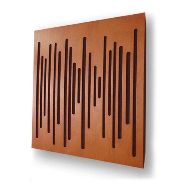 Панель для акустической обработки Vicoustic Wave Wood Cherry (10 шт.) vicoustic vari bass cherry 2 шт