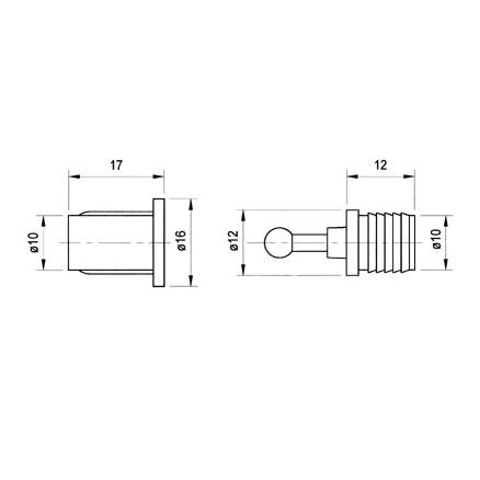 Крепёж для акустического гриля Visaton от Audiomania