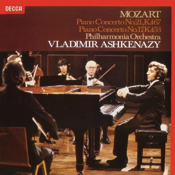 Mozart MozartVladimir Ashkenazy - : Piano Concertos No. 17 21 маурицио поллини maurizio pollini mozart piano concertos k 414
