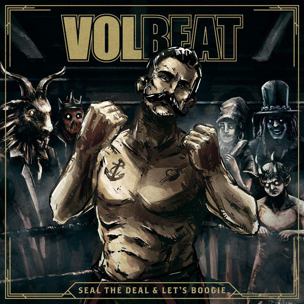 Volbeat Volbeat - Seal The Deal Let's Boogie (2 LP) volbeat volbeat live from beyond hell above heaven 3 lp