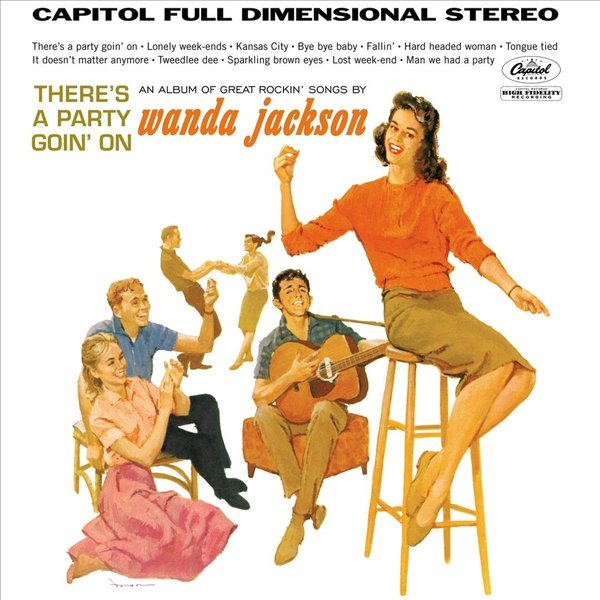 Wanda Jackson Wanda Jackson - There's A Party Goin' On free shipping 10pcs ad8009ar