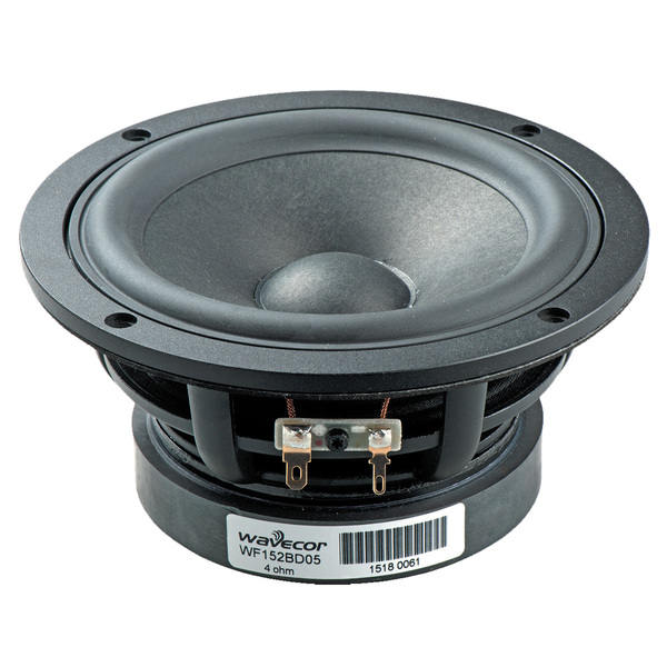 Динамик СЧ/НЧ Wavecor WF152BD05-01 (1 шт.) wavecor wf090wa02 01 1 шт