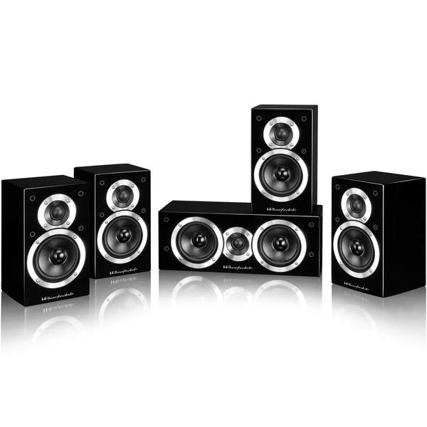 Комплект акустики 5.0 Wharfedale Moviestar DX-1SE 5.0 HCP System Black комплект акустики 5 0 wharfedale crystal 4 set black wood
