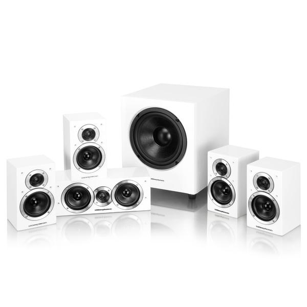Комплект акустики 5.1 Wharfedale Moviestar DX-1SE 5.1 HCP System White doxa dx 357 35 057d 02 doxa