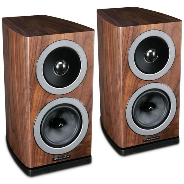 Полочная акустика Wharfedale Reva 1 Walnut Veneer полочная акустика wharfedale denton mahogany