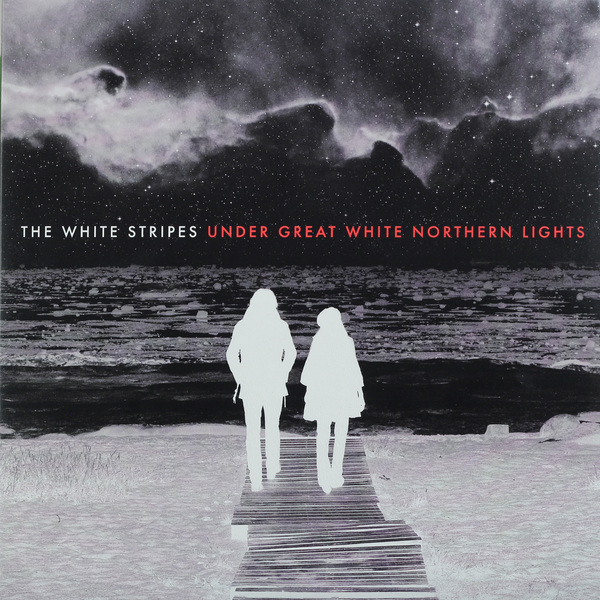White Stripes White Stripes - Under Great White Northern Lights (2 LP) long magnetic stripes for white board red 30cm 6 pcs