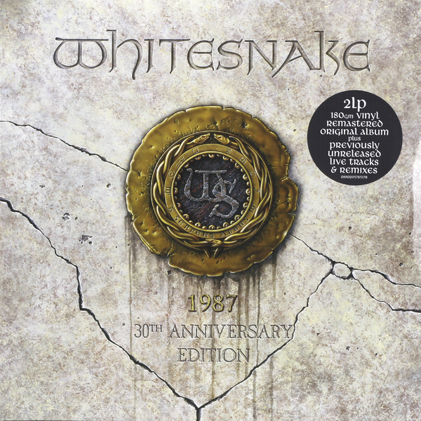 Whitesnake Whitesnake - 1987 (30th Anniversary) (2 Lp, 180 Gr) whitesnake whitesnake 1987 anniversary edition 2 lp