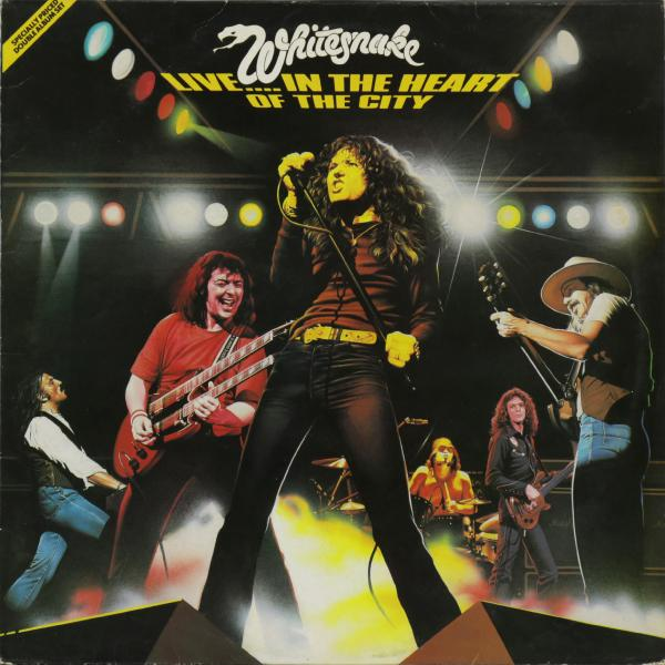 Whitesnake Whitesnake - Live... In The Heart Of The City (2 Lp. Uk Original. 1st Press) (винтаж)