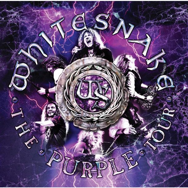 Whitesnake Whitesnake - The Purple Tour (live) (2 Lp, 180 Gr) whitesnake whitesnake 1987 anniversary edition 2 lp