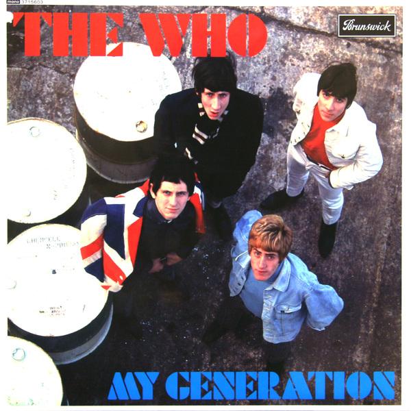 WHO WHO - My Generation виниловая пластинка the who my generation mono