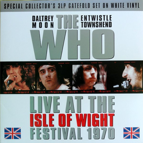 цена на WHO WHO - Isle Of Wight Festival 1970 (3 LP)