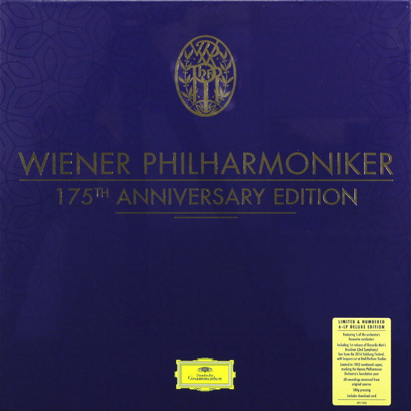 Фото - Wiener Philharmoniker Wiener Philharmoniker - Wiener Philharmoniker 175th Anniversary Edition (6 Lp Box) anna wiener uncanny valley
