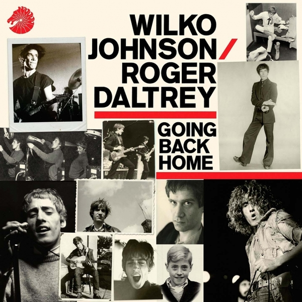Фото - Wilko Johnson Roger Daltrey Wilko Johnson Roger Daltrey - Going Back Home contrast lace keyhole back blouse