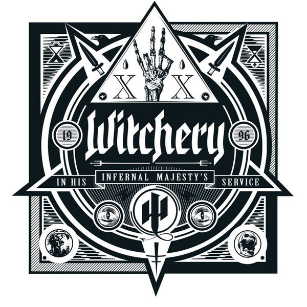 Witchery Witchery - In His Infernal Majesty's Service (180 Gr) футболка witchery