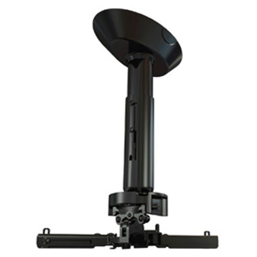 Фото - Кронштейн для проектора Wize PRO PR18A Black потолочный комплект для проектора wize pro для размещения на подвесной потолок на основе комплекта pr18a w штанга 30 46 см