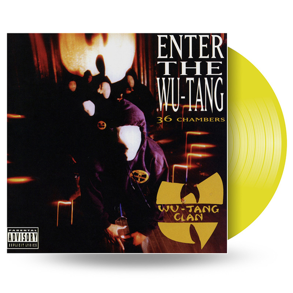 Wu-tang Clan Wu-tang Clan - Enter The Wu-tang Clan (36 Chambers) (colour)
