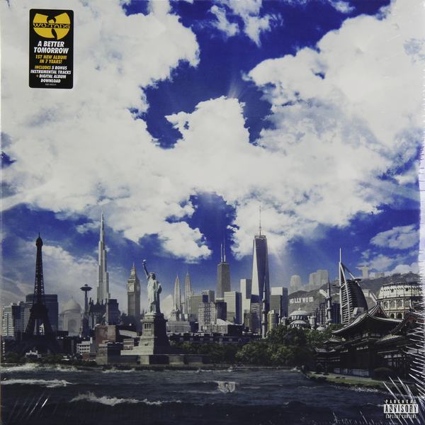 Wu-tang Clan Wu-tang ClanWu Tang Clan - A Better Tomorrow (2 LP)