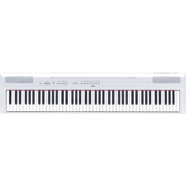 Цифровое пианино Yamaha P-115 White сценическое фортепиано yamaha p 115b