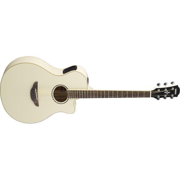Гитара электроакустическая Yamaha APX600 Vintage White