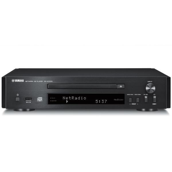 Сетевой проигрыватель Yamaha CD-NT670 Black