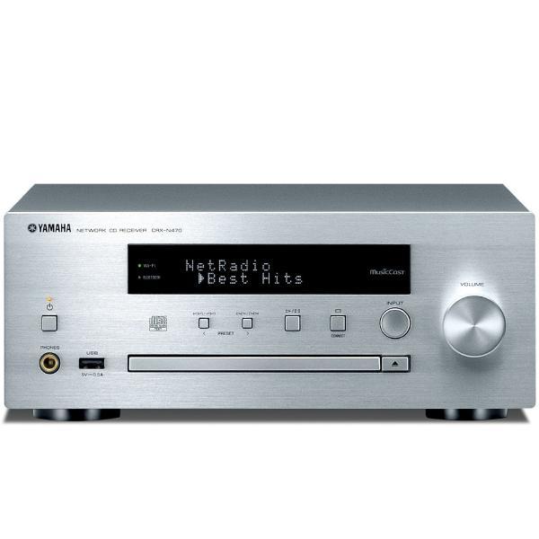 CD ресивер Yamaha CRX-N470 Silver