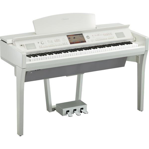 Цифровое пианино Yamaha CVP-709PWH yamaha cvp 701b