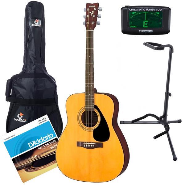 Акустическая гитара с аксессуарами Yamaha F310 Natural (Bundle 1)