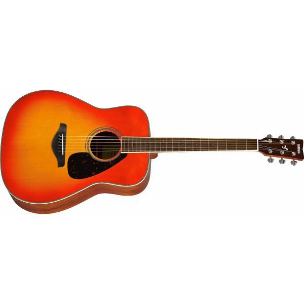 Фото - Акустическая гитара Yamaha FG820 Autumn Burst акустическая гитара yamaha fs820 turquoise