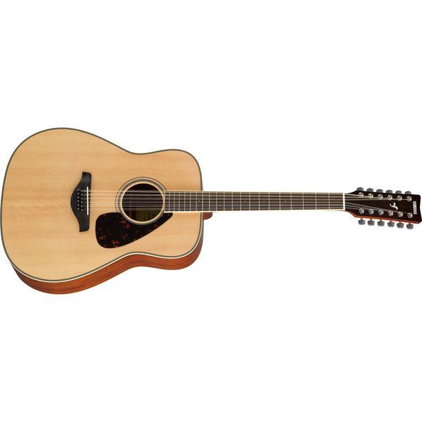 Фото - Акустическая гитара Yamaha FG820-12 Natural акустическая гитара yamaha fs820 turquoise