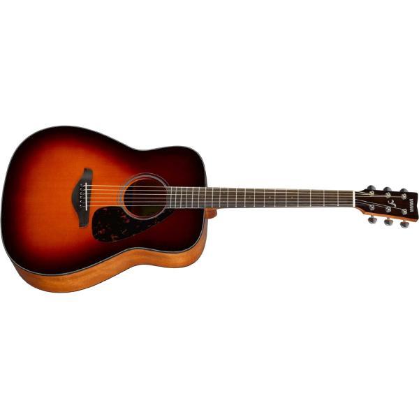 Фото - Акустическая гитара Yamaha FG820 Brown Sunburst акустическая гитара yamaha fs820 turquoise