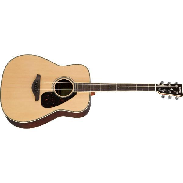 Фото - Акустическая гитара Yamaha FG830 Natural акустическая гитара yamaha fs820 turquoise