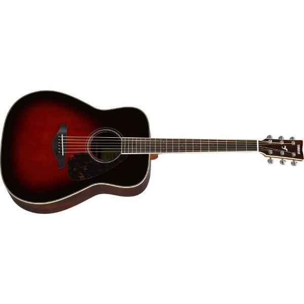 Фото - Акустическая гитара Yamaha FG830 Tobacco Brown Sunburst акустическая гитара yamaha fs820 turquoise
