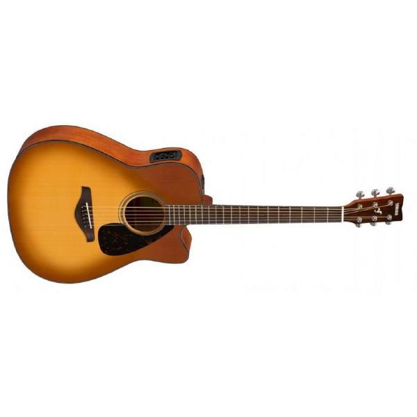 Гитара электроакустическая Yamaha FGX800C Sunburst
