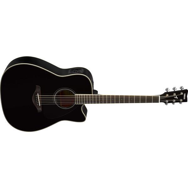 Гитара электроакустическая Yamaha FGX820C Black