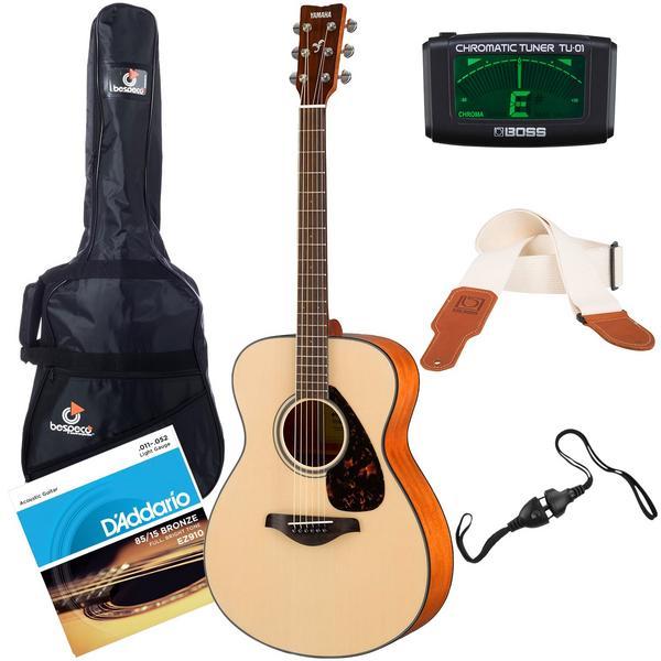 Акустическая гитара с аксессуарами Yamaha FS800 Natural (Bundle 1)