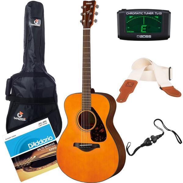Акустическая гитара с аксессуарами Yamaha FS800 Tinted (Bundle 1)