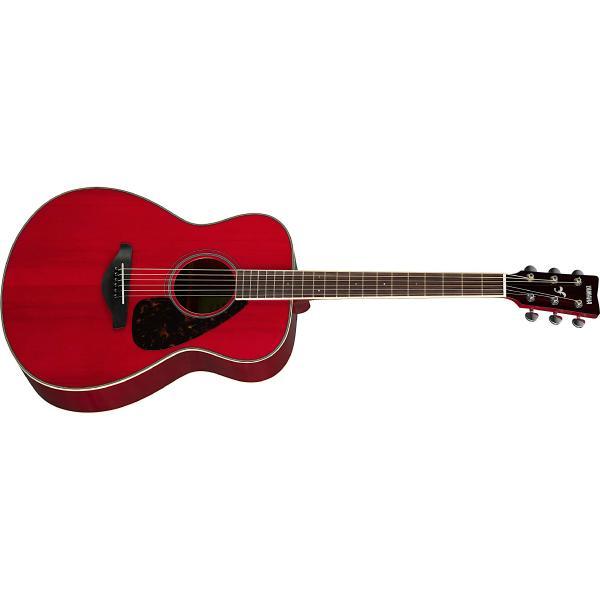 Фото - Акустическая гитара Yamaha FS820 Ruby Red акустическая гитара yamaha fs820 turquoise