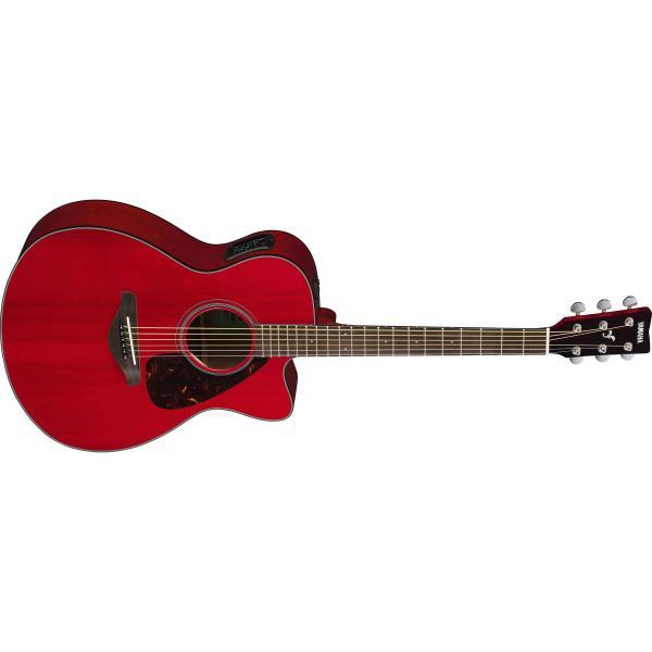 гитара электроакустическая yamaha fsx800c sunburst Гитара электроакустическая Yamaha FSX800C Ruby Red